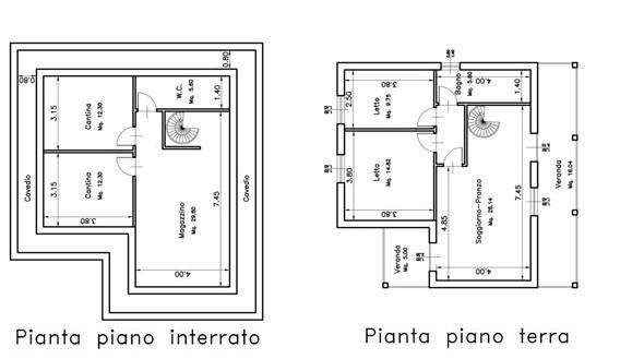 Sassari for Piani casa piano