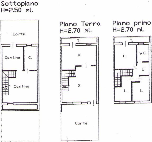 Progetto 70 mq mq with progetto 70 mq awesome in vendita for Esempi di piani di casa